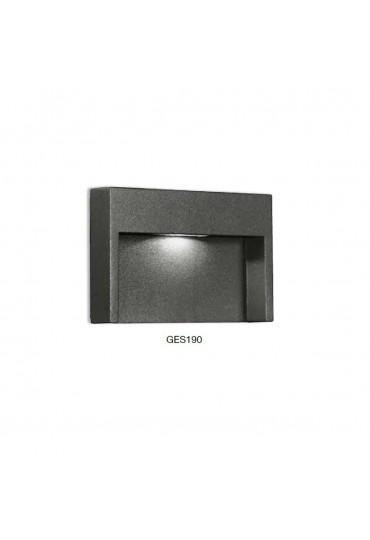 Applique a incasso segnapasso per esterno GES190 Gea luce