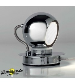 Lumetto cromo Jim Illuminando
