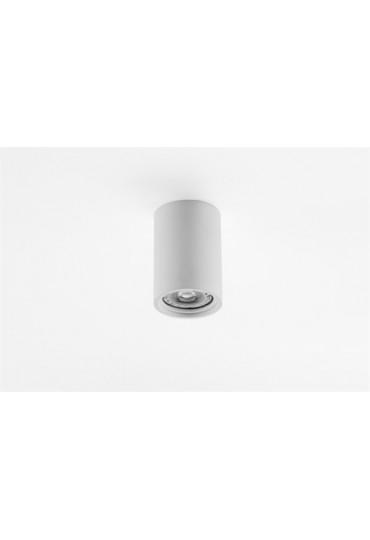 Spot in gesso cilindrico per cartongesso o laterzio