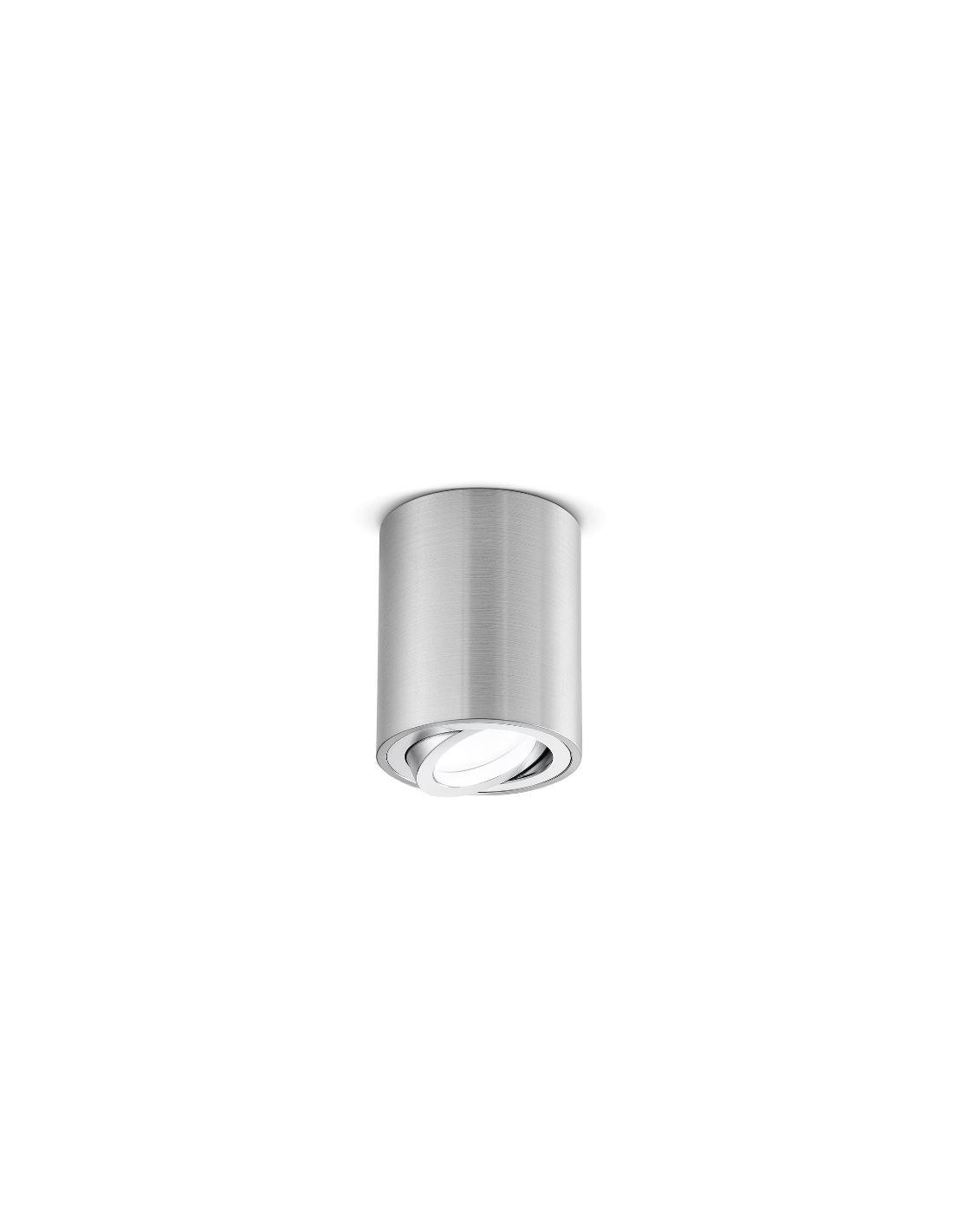 Faretti E Spot Da Soffitto faretto da soffitto cilindro in alluminio orientabile gfa350 gea led