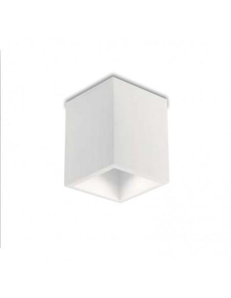 Plafoniera In Gesso Verniciabile Foster PL1 Intec Light