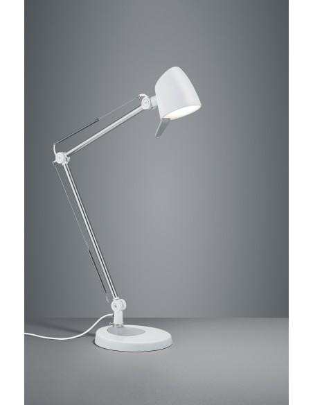 Lampada da Scrivania Led 5w Orientabile Rado Bianco Trio Lighting