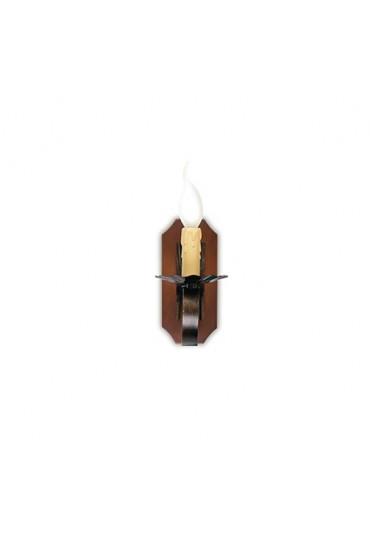 Applique Rustica legno 1 luce Fan Europe