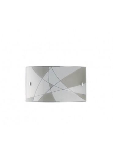 Applique Led Maxima 45 cm tortora bianco Fan Europe