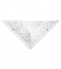 Applique Iside in vetro diamantato Fan Europe