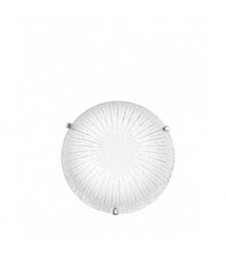 Plafoniera Led Chantal vetro diamantato