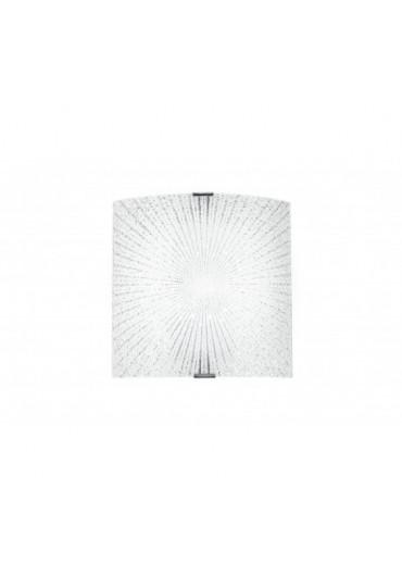 Applique Led Chantal vetro diamantato 26x26 Fan Europe