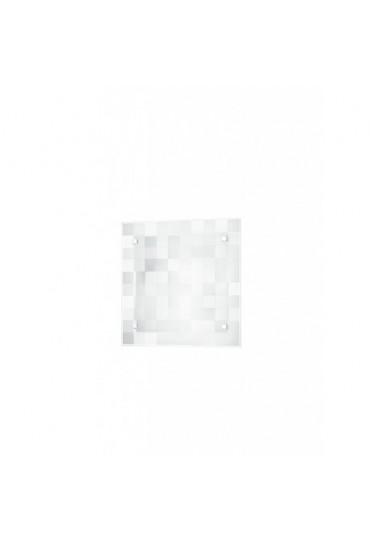 Plafoniera Chanel quadri bianca 30x30 Fan Europe