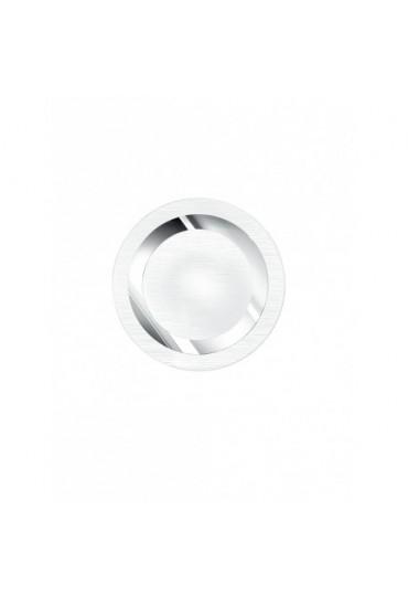 Plafoniera Oak Rotonda bianca cromo Fan Europe