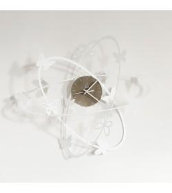 Orologio Multi Butterfly bianco Arti e Mestieri