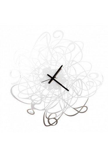Orologio da parete Doodle bianco Arti e Mestieri