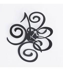 Orologio da parete Love Filomena nero Arti e Mestieri