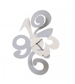 Orologio da parete Balgor alluminio Arti e Mestieri