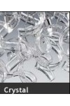 Sospensione Astro 206.190 Metal Lux cromo 100 vetri