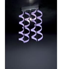 Sospensione Astro 206.221 Metal Lux cromo 8 vetri