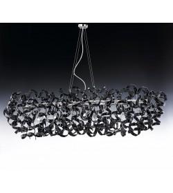 Sospensione 12 luci Astro 206.540 Metal Lux cromo