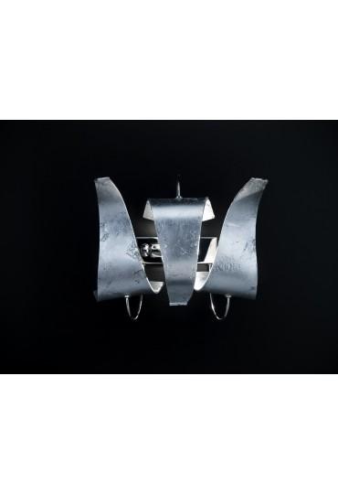 Applique Diva 214.101 Metal Lux cromo 3 vetri 7 colori