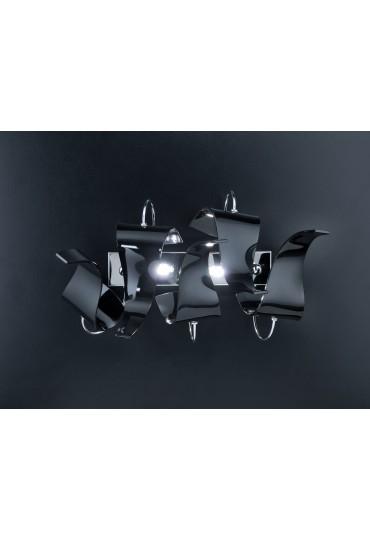 Applique Diva 214.102 Metal Lux cromo 5 vetri