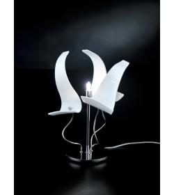 Lumetto Diva 214.121 Metal Lux cromo 3 vetri