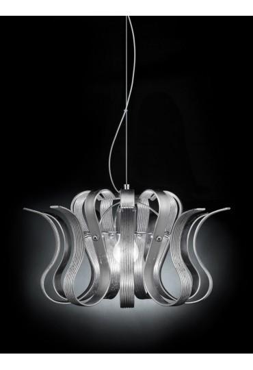 Sospensione Onda 216.140 Metal Lux 9 vetri