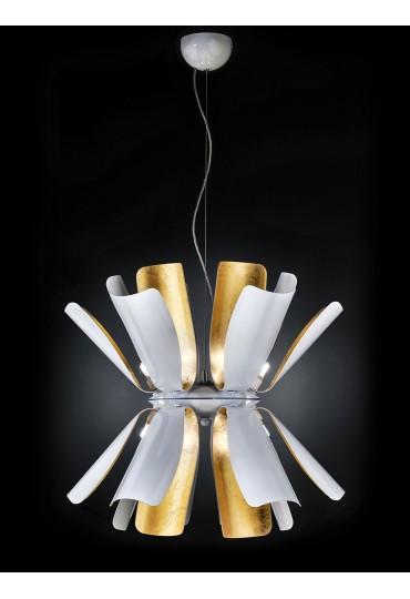 Sospensione Tropic Metal Lux 12 luci