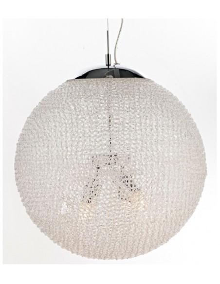 Sospensione Sfera Acrilico Ball 3 luci Ø50 cm Illuminati