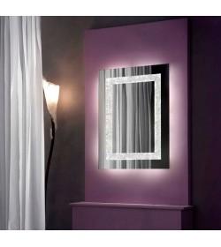 Specchio a parete strip Led Narciso