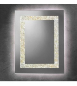 Specchio da parete strip Led Dandy